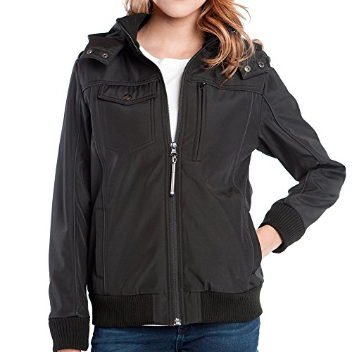 Baubax Travel Jacket - Bomber - Female - Black - Small