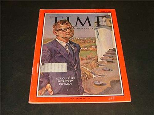 TIME 5 April 1963 Agriculture Secretary Freeman
