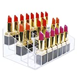 Benbilry 40 Slots Acrylic Lipstick Organizer Display Holder
