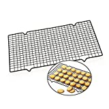 Cooling Rack for Baking Oven Safe Carbon Steel Wire Rack Fits Half Sheet Baking Pan Holder for Cookies,Cakes
