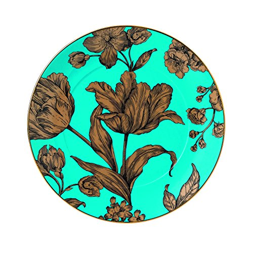 "Wedgwood Vibrance 9.2"" Accent Plate, Turquoise"