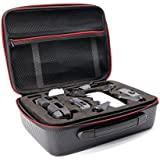 HUL PU Leather Case for DJI Spark and Transmitter Controller - Water-Proof and Impact Resistant