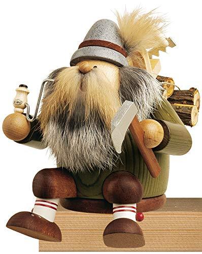KWO Sitting Lumberjack German