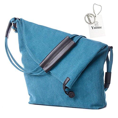 à l'épaule Beige Khaki Porter Yoohobo0002 Kaki à Size pour One Yoome bleu Sac Femme 861ac