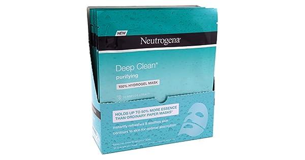 Amazon.com: Neutrogena Deep Clean purificar Hydrogel Máscara ...