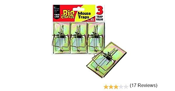 Dicoal STV105 - Cepo para Ratones-Pack de 3: Amazon.es: Jardín