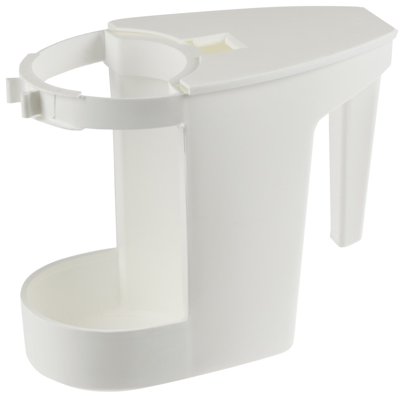 Impact 100 Super Toilet Bowl Caddy, 8'' Length x 4'' Width x 6'' Height, White (Case of 12) by Impact Products (Image #1)