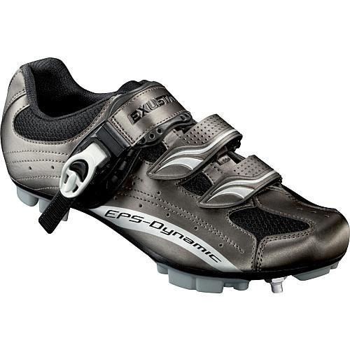 Exustar E-SM306 MTB Shoe, Grey, Size 42 by Exustar