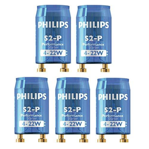 Aquarium Lighting Ballast (Philips S2 Electronic Fluorescent Lamp Tube / Light Bulb Ballast Starter (Pack of 5))