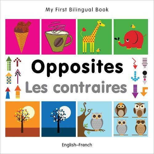 My First Bilingual Book - Opposites (English-French) Milet