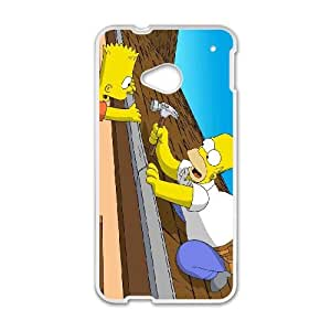 HTC One M7 Phone Case Homer Simpson's OC-C11594