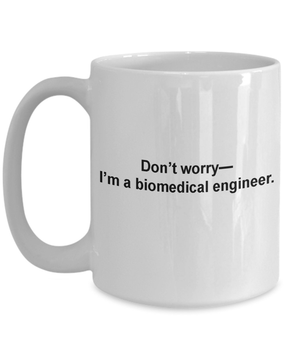 Biomedical Engineer Mug、旅行コーヒーカップギフトfor Biomedical Engineer 15oz GB-1777960-43-White 15oz ホワイト B076T756GJ