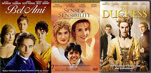 Classical Vanity (Classical Passion & Temptation Period Piece Movie Set Jane Austen Senes & Sensibility + Duchess & Bel Ami (3 DVD- Romantic Triple Feature Movie Set))
