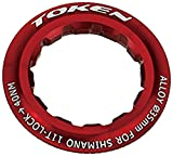 Token Products Lock Ring for Shimano 12T Cassette, Red
