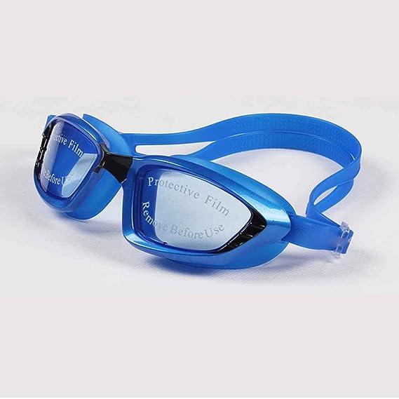 lidahaotin Uomini Donne placchi nuotata Occhiali impermeabile anti nebbia Protezione UV Lens Goggles Beach Surf Eyewear Outdoor nero kRPDqMqmi