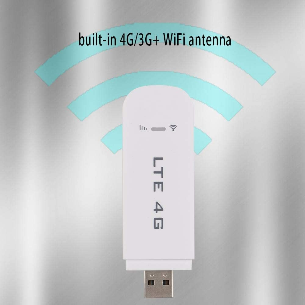 Ciglow USB WiFi Router Portable 100Mbps 4G LTE Modem Network Adapter WiFi Hotspot Stick Share up to 10 WiFi Users Plug and Play
