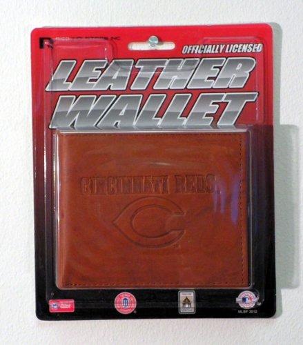 (Rico Industries MLB Cincinnati Reds WalletWallet Billfold Leather Embossed, Team Colors, One Size)