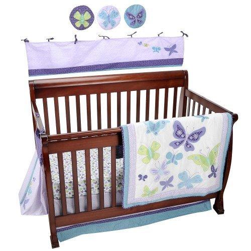NoJo Beautiful Butterfly 9-Piece Crib Bedding Set by NoJo [並行輸入品]   B00ZSQDEDG