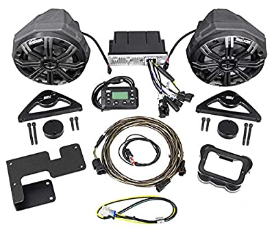2015-2018 Can-Am Spyder F3 Bluetooth Receiver+Kicker Speakers+Free Home Theater