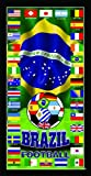 USA World Cup USA America Soccer Team Flag Soccer World Cup 2018 Wonder Towel USA