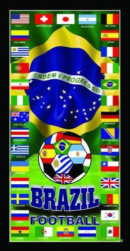 Germany Soccer Team Flag Soccer World Cup 2014 Soccer Wonder Beach Towel