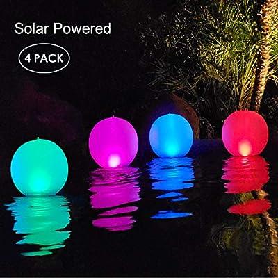 Esuper Solar Floating Pool Lights