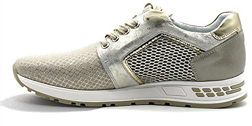 Sportive Donna Scarpe Nero Giardini Beige 412 5234 Sneaker P805234d YA4qwU0