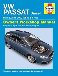 vw passat diesel service and repair manual 2005 to 2010 service rh amazon co uk vw passat 2011 owners manual pdf service manual_volkswagen passat b7 - en.pdf