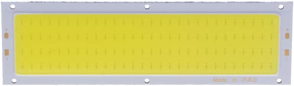 Starnearby 12 V 10 W COB Panel Luz LED Tira Luz Lámpara Bombilla 120 x 36 mm Blanco cálido/Blanco