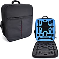 HUL Backpack Carrying Case for Yuneec Typhoon H Drone with Foam Inserts