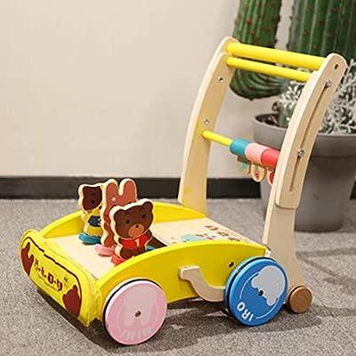 TWW Andador para bebés, Almacenamiento Plegable de Seguridad de ...