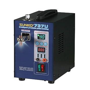 Festnight Mini Batería de Pulso de Precisión para el Hogar Prueba de Carga USB Portátil Máquina de Soldadura por puntos SUNKKO 737U: Amazon.es: Bricolaje y ...
