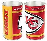 Kansas City Chiefs 15 Waste Basket - Licensed NFL Football Merchandise