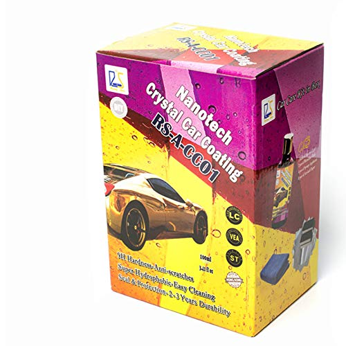 Rising Star CC01 Nanotech Crystal Car Coating 100mL Kit Rising Star Nanotech Co. Ltd