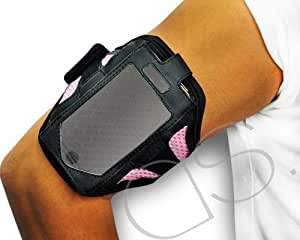 Running Sport Workout Armband Case Compatible With iPhone 4/4S and 3G/3G - Pink