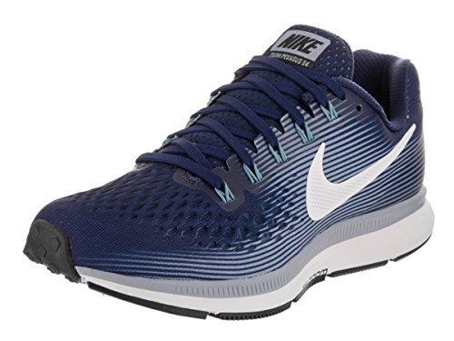 Galleon - Nike Women's Air Zoom Pegasus 34 Binary Blue/White/Glacier/Grey Running  Shoe 6 Women US