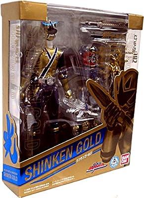 Power Rangers Samurai S.H.Figuarts Exclusive 6 Inch Action Figure Shinken Gold