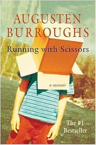 Scissors book with running