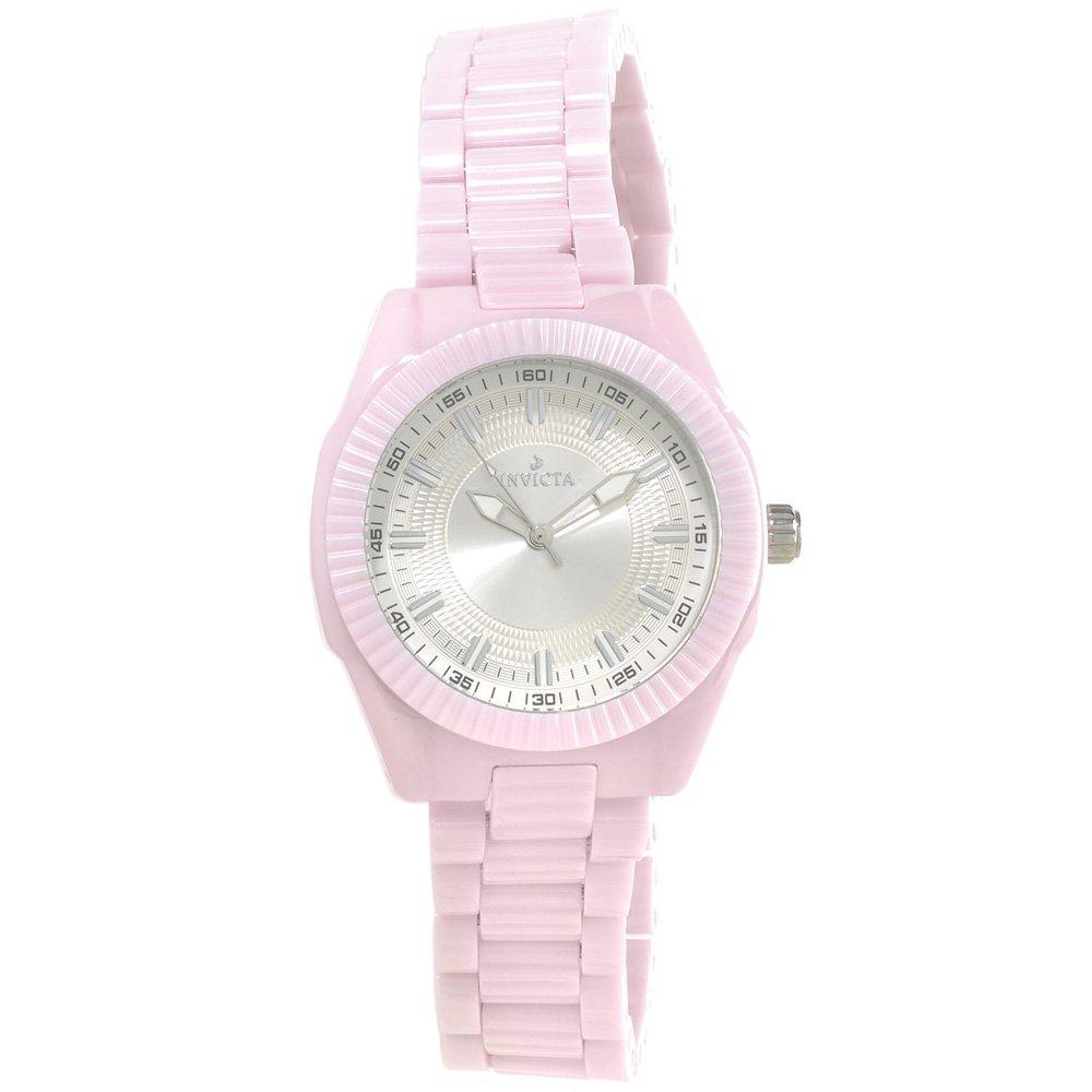 Invicta Women's 15317 Ceramics Quartz Chronograph Silver Dial Watch [Watch] I...