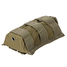 Molle Tactical Single Rifle Mag Magazine Pouch Open Top Bag Cartridge Clip Pouch For M4/M16 5.56 .223