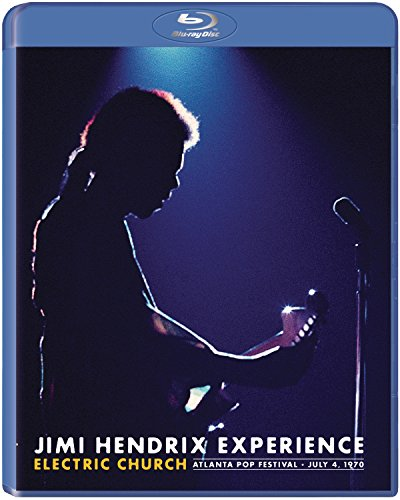 Blu-ray : Jimi Hendrix - Jimi Hendrix: Electric Church (Blu-ray)