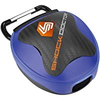 Shock Doctor Mouth Guard Case. Keep Your Mouthguard Clean / Safe. Reduces Exposure to Bacteria