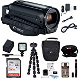 Canon VIXIA HF R80 Camcorder with 32GB Supreme Bundle