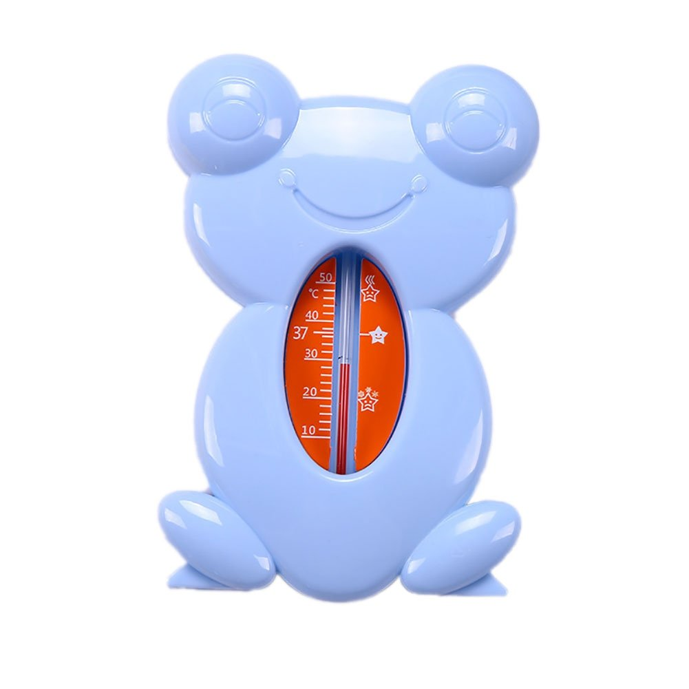 Miyanuby 2 in 1 Baby Safe Floating Bath Thermometer for Baby Bath, Baby Care Supplies Toys