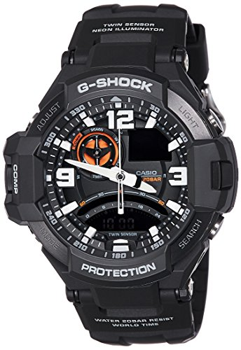 Casio Men's G-Shock GA1000-1A Black Silicone Quartz for sale  Delivered anywhere in USA