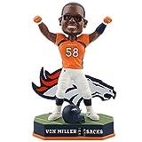Forever Collectibles Von Miller Denver Broncos Fantasy Football Sacks Tracker Bobblehead NFL