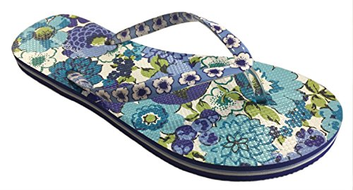 Blooms Bradley Blueberry Vera Flip Flops 8aqwxZIf
