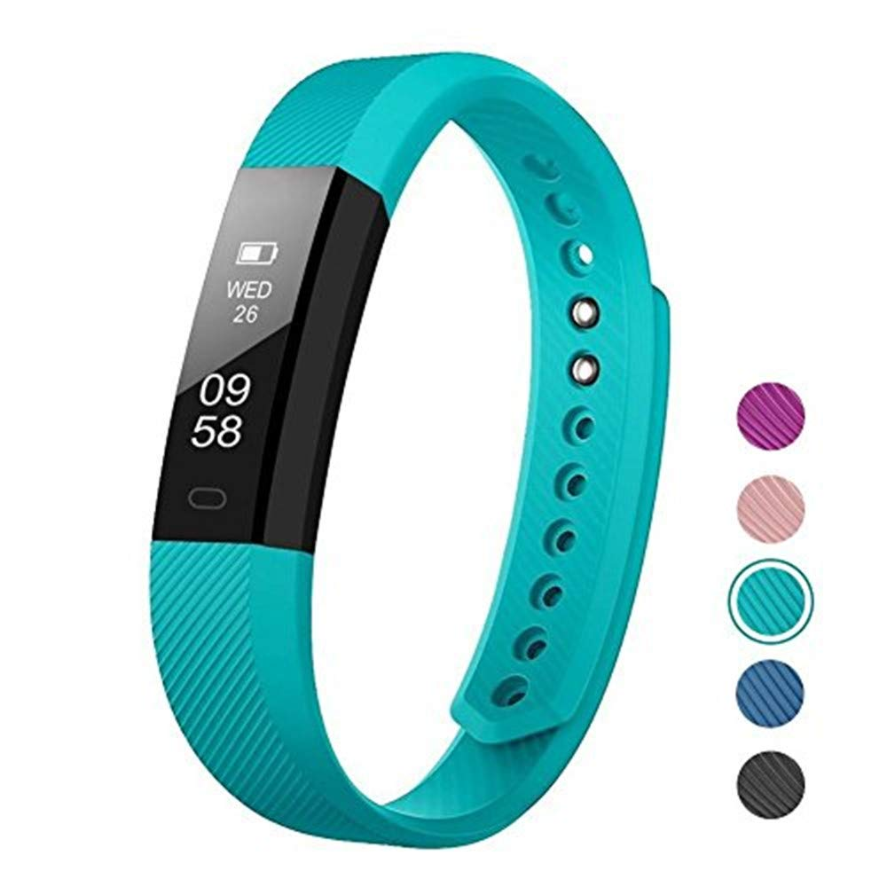 Businda Fitness Tracker Activity Tracker with Step Counter and Calorie Counter Watch Pedometer, Slim Fitness Watch for Kids/Women/ Men