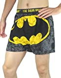 Batman Mens Functional Open Fly Boxer Shorts / Underwear