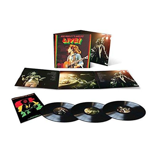 Bob Marley & The Wailers - Live! [3 Lp] - Zortam Music